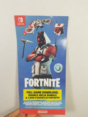 Nintendo switch Fortnite Game for Sale in Pittsburgh, PA
