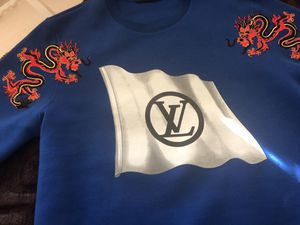Brand New one-of-a-kind Louis Vuitton original sweatshirt size medium comes with a garment bag brand new for Sale in Tacoma, WA