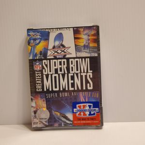 NFL Greatest Super Bowl Moments DVD New sealed. UPC 012569687080. for Sale in San Jose, CA