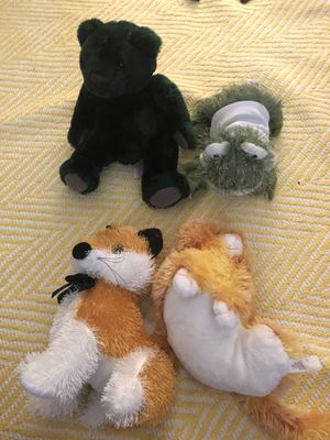 Stuffed Animals (4 pieces) for Sale in Washington, DC