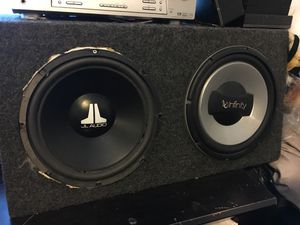 Infinity JL Audio speaker for Sale in West Valley City, UT