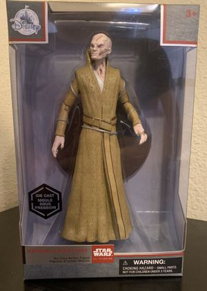 Disney Store - Elite Series - Supreme Leader Snoke - The Last Jedi - Die Cast Action Figure for Sale in Anaheim, CA