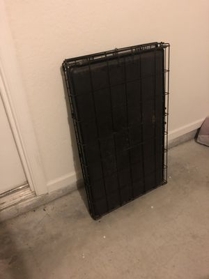 Black dog crate for small to medium dog for Sale in Orlando, FL