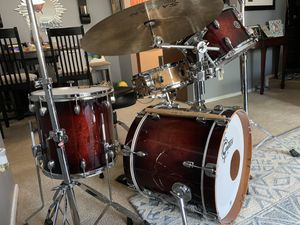 Gretsch Catalina club, DW snare & Sabían Cymbals for Sale in Germantown, MD