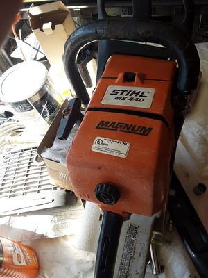 Stihl, ms440 chainsaw for Sale in Peoria, AZ
