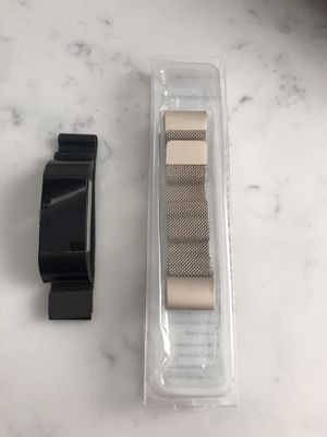 Fitbit Charge 2, charger, extra rose gold band for Sale in Henderson, NV