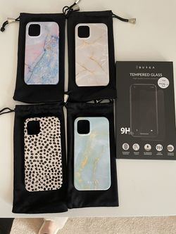 NEW Burga iPhone 12 Mini cases + screen protector for Sale in Tigard,  OR