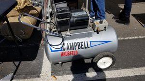 20gallon 4hp Hausfeld Campbell compressor for Sale in Yuma, AZ