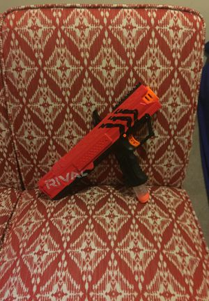 Nerf rival gun (red) for Sale in Seattle, WA