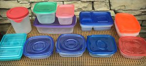 Pre-owned food storage containers - FREE for Sale in Etiwanda, CA