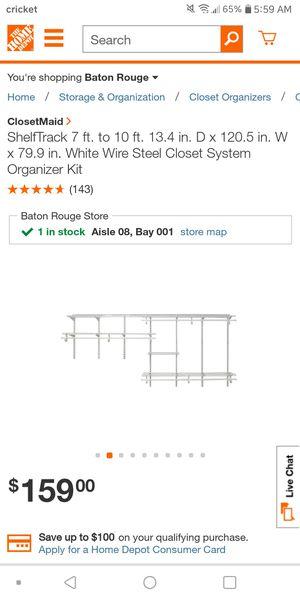 Closet shelves for Sale in Baton Rouge, LA