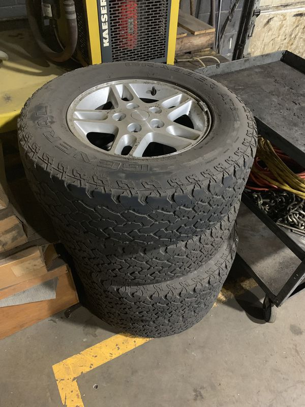 Jeep wheels