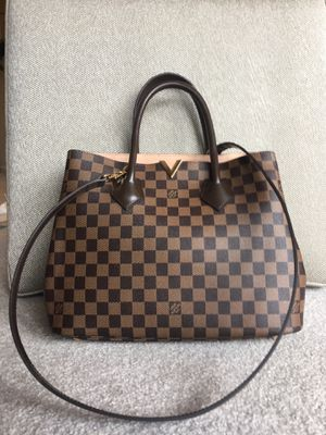 Louis Vuitton LV Bag Damier Ebene Kensington Purse Handbag Crossbody N41435 for Sale in Oak Brook, IL