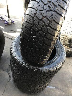 275/55R20 Falken All terrain tires (4 for $340) for Sale in Norwalk, CA