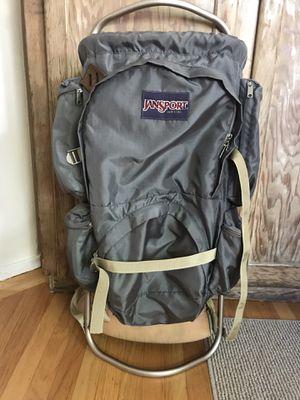 Vintage JanSport Aluminum External Frame Hiking Backpack for Sale in Martinez, CA