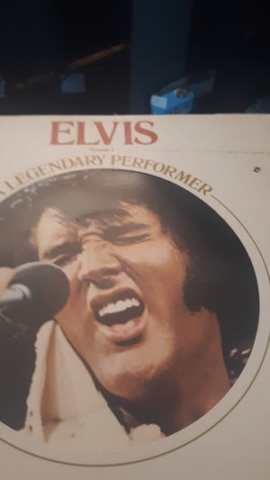 Elvis record albums old but rarely played for Sale in Alexandria, LA