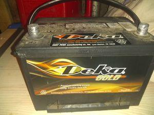 Delta top post battery for Sale in Evansville, IN