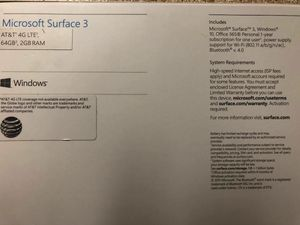 Microsoft Surface 3 for Sale in Mesquite, TX
