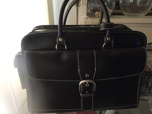Franklin covey rolling briefcase bag for Sale in Carlsbad, CA