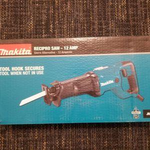 New Makita 12 Amp Recipro Saw for Sale in Renton, WA