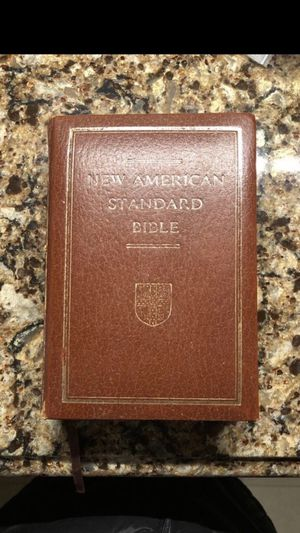 New American Standard Version Bible for Sale in Smyrna, TN