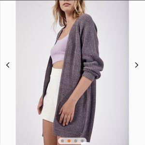 Knit Midi Basic Cardigan in Purple for Sale in Arlington, VA