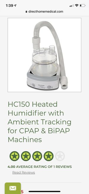 CPAP machine/humidifier for Sale in Wakefield, MA