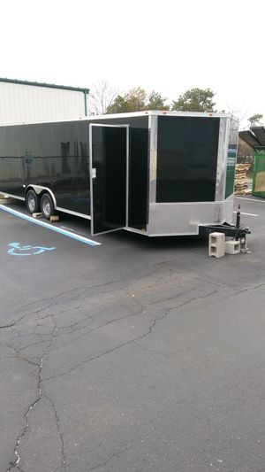 Enclosed Vnose Aluminum Trailers many sizes available for Sale in Great Neck, NY