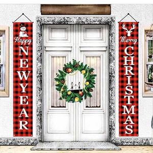 Christmas Decoration Porch Sign Banners,Merry Christmas and Happy New Year for Sale in Burlington, NC