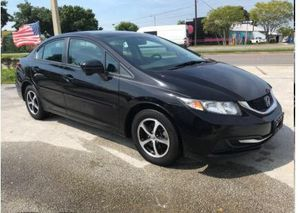 2015 Honda Civic🔸Automatic 🔺$1,500.- DOWN PAYMENT🔺 😀 CASH PRICE 10,900.- 😀 🏁🔺 HABLAMOS ESPAÑOL 🔺 🔺 for Sale in Orlando, FL