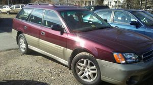 2001 Subaru Legacy Outback AWD 4 drs auto 151 k miles for Sale in Manassas, VA