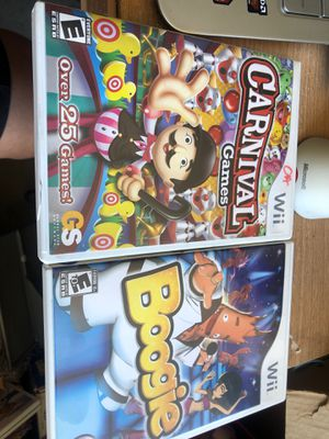 Wii games total 2 for Sale in Gilroy, CA