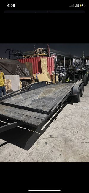 Trailer 18x8 with ramps (toy hauler) for Sale in Grand Terrace, CA
