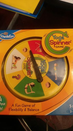 ThinkFun Yoga Spinner game for Sale in Mount Laurel Township, NJ