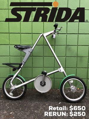 Strida 3 Swiss folding bike for Sale in Portland, OR