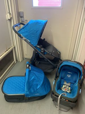 Uppababy stroller, bassinet plus car seat and base for Sale in Nashville, TN