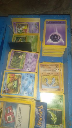 Barely used once Pokemon cards, training cards, Energy cards .... thiers 700+ pokemon cards for Sale in San Jose, CA