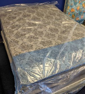 Queen mattress, box spring AND frame - $200 for Sale in Pomona, CA