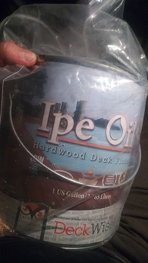 Ipe oil 2×$80 New for Sale in Los Angeles, CA