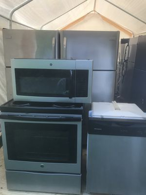Stainless Steel full kitchen sets $1000 for Sale in Atlanta, GA