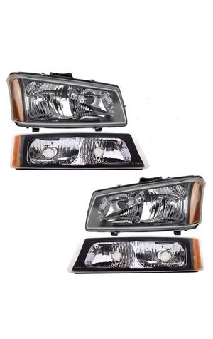 New 2002-2003 Chevrolet Silverado headlights for Sale in Houston, TX