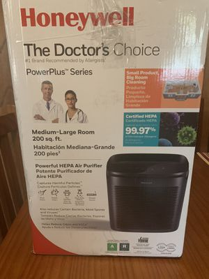 New Honeywell Doctors Choice Air Purifier $90 OBO for Sale in Braselton, GA