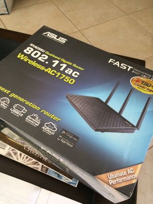 ASUS Router New for Sale in Costa Mesa, CA
