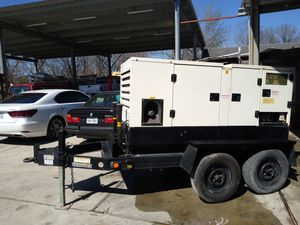 Generator 84 KW trailer mounted for Sale in Houston, TX