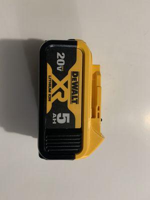 Dewalt 5AH battery for Sale in Azusa, CA