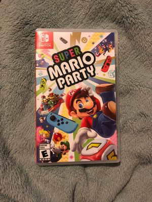 Super mario party nintendo switch for Sale in Claremont, CA