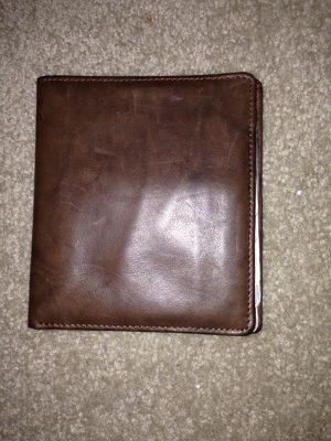Brown leather wallet for Sale in Tacoma, WA