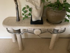 Stone coffee table, end table and console table for Sale in Redmond, WA