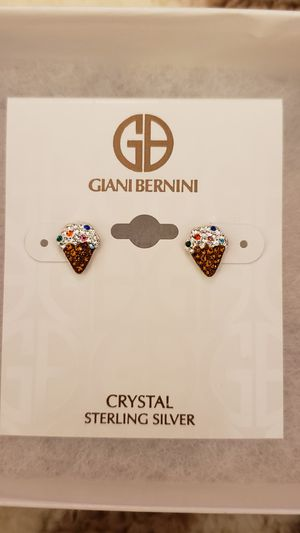 Ice cream sterling silver earrings for Sale in Lincoln Acres, CA