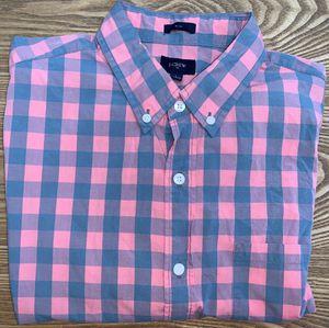J Crew Men's Plaid Button Down Dress Shirt Large for Sale in Grand Rapids, MI